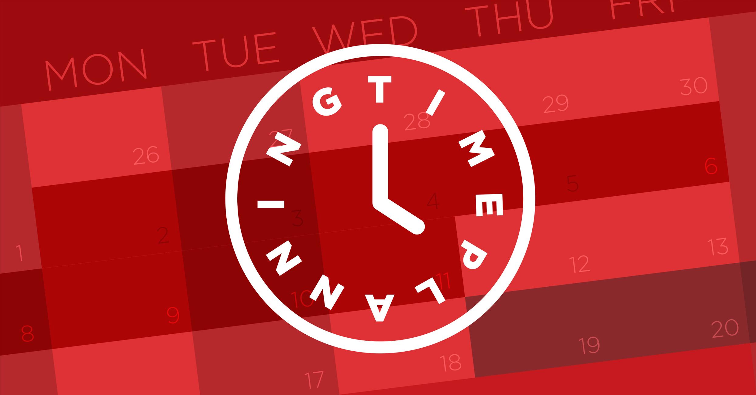 time planning time estimates