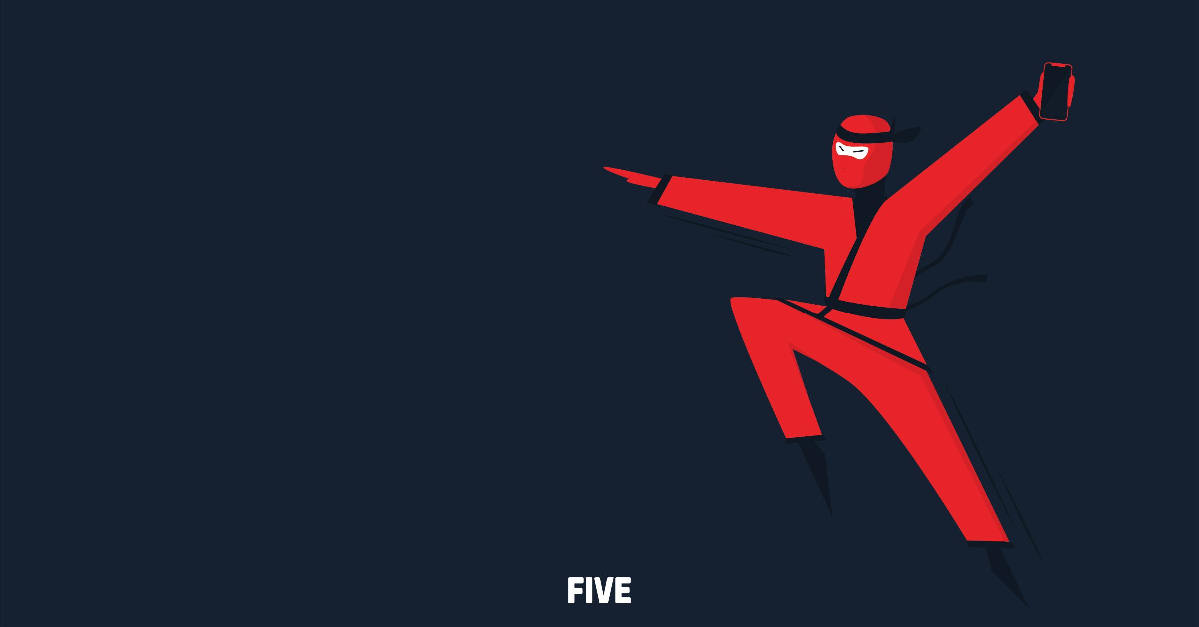 iOS vještina Five